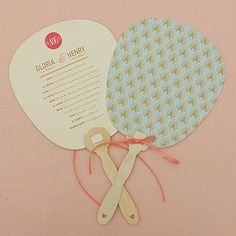 Order of the Day Fan Pale Blue