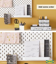 All your tools for success should be in one place. Use SKÄDIS pegboard so you can keep track of your next task.