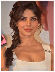 The Secret of Braided Hair Style by Priyanka Chopra - How To Guide's -Visit  SkinSecrets.in|
