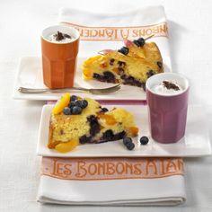 Heidelbeer-Aprikosen-Becherkuchen Rezept