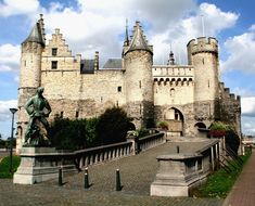 Het Steen, #Antwerp, #Belgium One of the oldest buildings in this part of Europe; it was constructed in the early Middle Ages after the Viking incursions