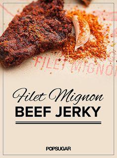 Filet Mignon Beef Jerky Recipe   POPSUGAR Food