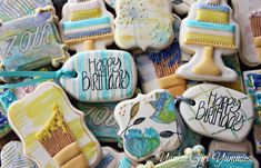Painted birthday collection