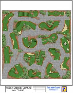 Miniature Golf Course Design Inspiration