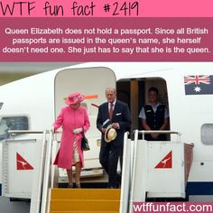 elizabeth does not have a passport Weird facts about Queen Elizabeth - WTF fun factsThe Facts of Life The Facts of Life may refer to: