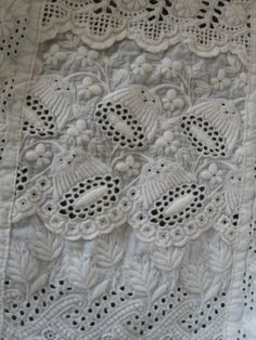 All hand done embroidery, Victorian!!