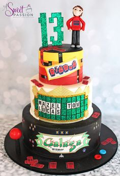Arcade Cake | A Sweet Passion