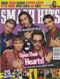 'Smash Hits' Magazine - used to love getting this every two weeks and tearing out the posters hahaha