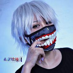 Anime-Tokyo-Ghoul-Kaneki-Ken-Real-Zipper-Mouth-Muffle-Anti-Dust-Winter-Face-Mask