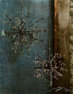 Modern Mountain Design: Rustic Christmas Decor and Decorations