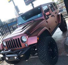 Burgundy, Jeep and Wrangler # burgundy - auto's - Cars Maserati, Bugatti, Lamborghini, Wrangler Jeep, Jeep Wrangler Headlights, Jeep Wrangler Unlimited, Jeep Rubicon, Jeep Wrangler Colors, Pink Jeep Wranglers