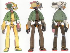 I always liked Canti from FLCL ★ || Please support the artists and studios…