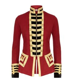 Image result for jacket contrast inside collar red