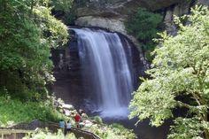 Transylvania County NC 250 waterfalls
