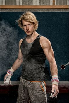Epke Zonderland of the Netherlands - Olympic Gold Medalist High Bar Gymnastics London 2012