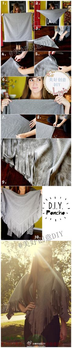 Of cloak DIY tutorial, no sewing machine - not quick to learn?  - More interesting content, please pay attention to