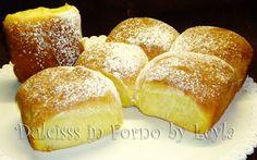 Buchteln alla nutella e alla marmellata - krapfen al forno, non fritti, ricetta