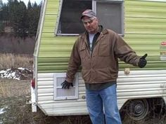how to save $1000's on your micro house project - YouTube.  By reusing salvaged camper parts.