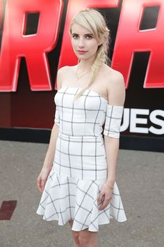 Pin for Later: Comic-Con 2015 Est Plus Sexy Que Jamais Emma Roberts