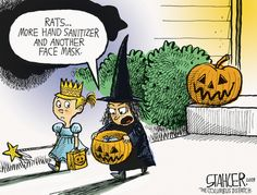 Funny Cartoonists Lampoon the News and Halloween