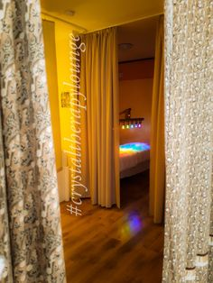 Therapy room. Therapy, Curtains, Crystals, Bed, Room, Home Decor, Bedroom, Blinds, Decoration Home