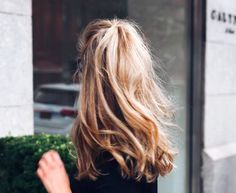 A half up ponytail is perfect for a casual weekend beauty look