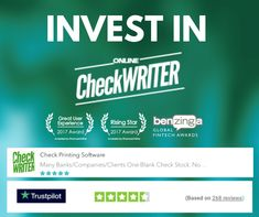 Invest in Artificial intelligence technology Online Check Writer Payroll Checks, Check Mail, Invoice Template Word, Writing Software, Free Checking, Artificial Intelligence Technology, Cheque, Business Checks, Online Checks