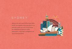 Discover Australia by Jimmy Gleeson, via Behance