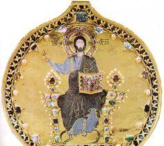 Detalle de la Palla d'Oro de San Marcos de Venecia (S.XII-XIV) - Segunda Edad de Oro Bizantina -19