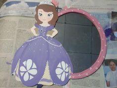 espejo country princesita sofia