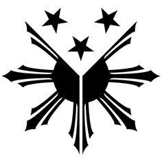 Philippines Flag Sun Stars Filipino Pambansang Watawat by decalus, $3.00