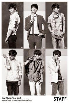VIXX are chosen to model for clothing brand 'STAFF' - Latest K-pop News - K-pop News | Daily K Pop News