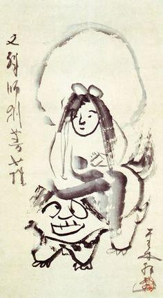 文殊師利菩薩図