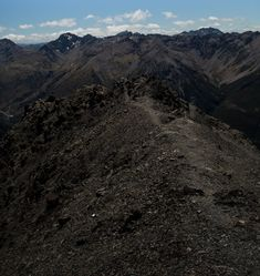 Looking back down the parth from the peak of Avalance Peak in Arthurs Pass New Zealand. This is a day round trip Adventure Photography, Round Trip, New Zealand, Mountains, Photo And Video, Travel, Instagram, Viajes, Destinations