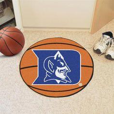 Duke University Blue Devils Basketball Floor Rug Mat