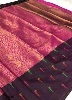 Sarees Online | Buy Sarees Online |@ ibuyfromindia.com Kora Silk Sarees, Kanjivaram Sarees, Fancy Sarees, Party Wear Sarees, Festival Wear, Festival Wedding, Ethnic Sarees, Organza Saree, Work Sarees