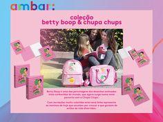 Conheces a nova linha betty boop? Fica a conhecê-la melhor em www.ambar.pt. #ambarideiasnopapel