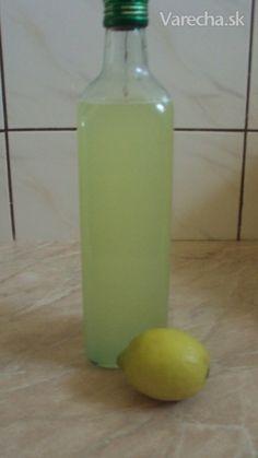 Citrónový sirup-recept.