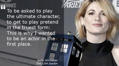 I AM SO EXCITED FOR THIS!  I don't understand why people are getting upset over the fact she is a woman?? It has already been confirmed The Doctor can regenerate into any gender, so I am so hyped to see how she portrays The Doctor!