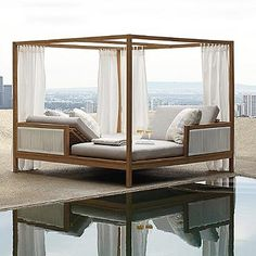 Brizo Daybed with Cushions by Porta Forma
