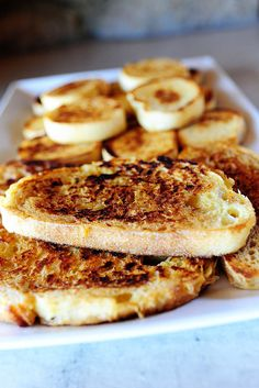 Pioneer Woman French Toast - Best French toast I've ever made!  I used milk instead of cream and it was delicious!