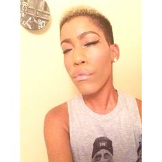 A very simple beat down to the face. No added contour just blush and highlight.