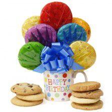 Birthday Mug Cookie Bouquet