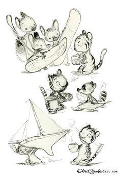 Illustrator: Chris Sanders ✤ || CHARACTER DESIGN REFERENCES | キャラクターデザイン | çizgi film • Find more at https://www.facebook.com/CharacterDesignReferences & http://www.pinterest.com/characterdesigh if you're looking for: bande dessinée, dessin animé #animation #banda #desenhada #komisch #manga #BD #historieta #sketch #how #to #draw #strip #fumetto #settei #fumetti #manhwa #cartoni #animati #comics #cartoon || ✤