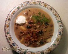 Latvian Wild Mushroom and Potato Soup Recipe
