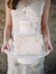 Dreamy white cake