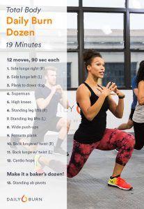 The Daily Burn Dozen Total-Body Workout