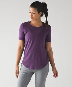 This tee was designed for working out, going out, and everywhere in between.