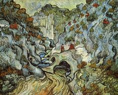 The Ravine Of The Peyroulets 1889 | Vincent van Gogh