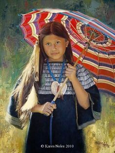 Available Western and Native American - Painter Karen Noles | DANCE WITH COLORS